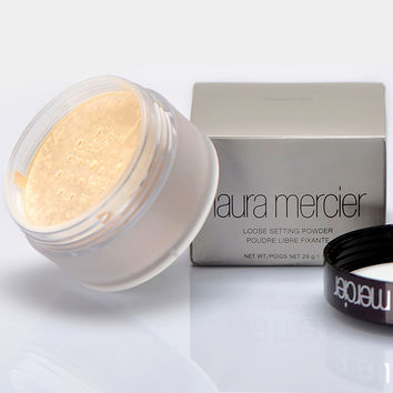 Brand Laura Mercier Loose Setting Powder Waterproof Long-lasting Moisturizing Face Loose Powder Maquiagem Translucent Makeup