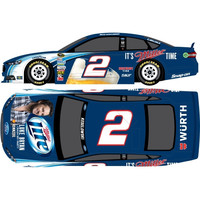 "Action Racing Collectibles B. Keselowski #2 Luke Bryan ""Crash My Party"" Miller Lite 1:24 Chrome Die-Cast Ford Fusion - http://www.shareasale.com/m-pr.cfm?merchantID=7124&userID=1042934&productID=555872473 / Brad Keselowski"