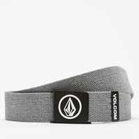 Volcom Circle Web Belt - Mens Belts - Black - One