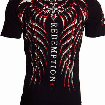 Men's Affliction Redemption T Shirt