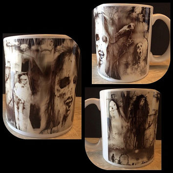 Scary Stories To Tell In The Dark Ceramic Coffee Mug