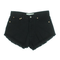 The Laundry Room Womens Cotton Denim Cutoff Shorts