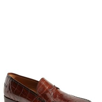 Men's Mezlan 'Bordone' Alligator Penny Loafer