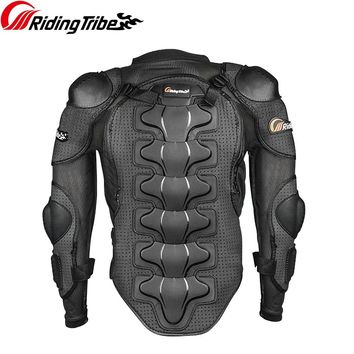 Riding Tribe Motorcycle Racing Body Armor Motocross Jacket Off-Road Safety Protection Clothing Chest Spine Protector Gear HX-P13