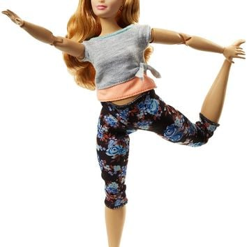 Mattel® Barbie® Made to Move Doll - Curvy with Auburn Hair