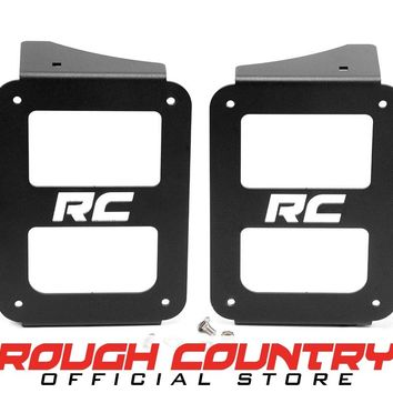 Jeep Wrangler JK Wrangler JK Tail Light Covers - Open Design (Pair) 2007 - 2018