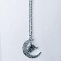 Moon Elephant Necklace – Infinity Crave