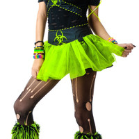 Lip Service Miss Cyanide Costume Black