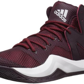 adidas Performance Men's Crazy Bounce Basketball Shoe Maroon/White/University Red 11 D