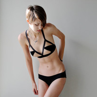 Geometric Ascension Soft Bra