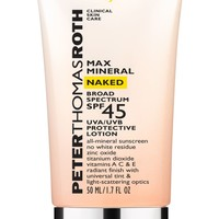 Peter Thomas Roth Max Mineral Naked SPF 45 Broad Spectrum Protective Lotion | Nordstrom