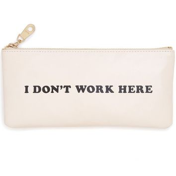 I Don't Work Here Get It Together Pencil Pouch by Bando
