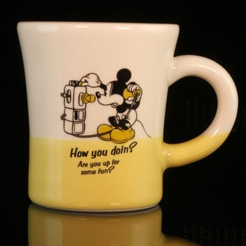 Disney Mickey Mouse 2 Tone Mug