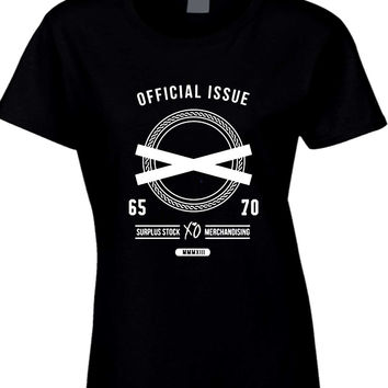 The Weeknd Official Issue Surplus Stock Merchandising Womens T Shirt