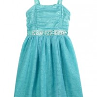 Sparkle Party Dress With Jewels