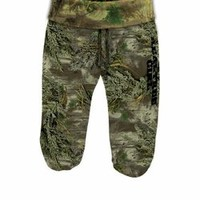 The Game's Womens French Terry Camo Cropped Pant - Max1
