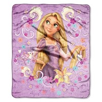 "Tangled Rapunzel Forever Dream"" Micro Raschel Throw (46""x60"")"