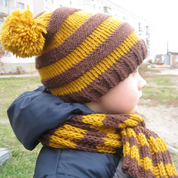 Toddler Hat Knitting Pattern, Knitting Pattern Boys Hat, Winter Kids Beanie Pattern, Knitting Pattern Boys Hat, Pompom Hat Pattern