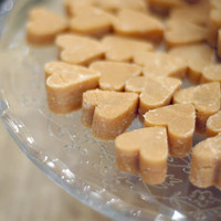 Scottish Tablet Hearts