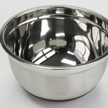5 qt. Stainless Steel Mixing Bowl Case Pack 3