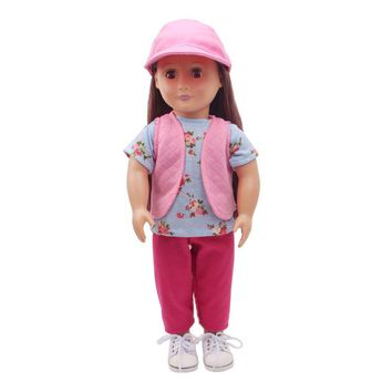 "Free shipping!!! hot 2017 new style Popular 18"" American girl doll clothes/dress C236"