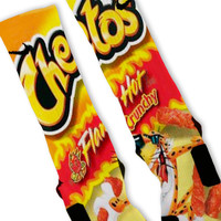 Hot Cheetos Custom Nike Elite Socks