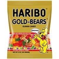 Haribo Gold Bears, 5-Ounces (Pack Of 12)