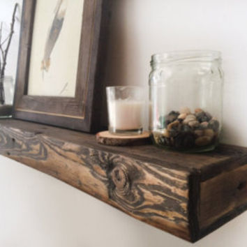 "17.5"" Chunky Rustic Floating Shelf"