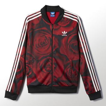 adidas Red Clash Track Jacket - Multicolor | adidas New Zealand