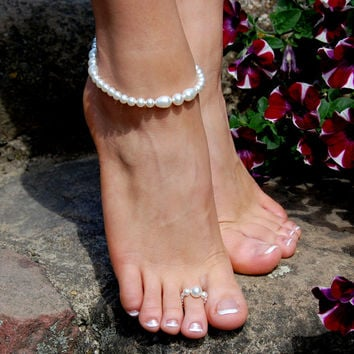 Shop Beach Wedding Foot Jewelry on Wanelo