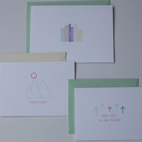 3 Layers of Expression Card TM {Graduation Set}