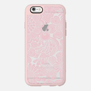 welcome pink bird iPhone 6 case by Julia Grifol Diseñadora Modas-grafica | Casetify
