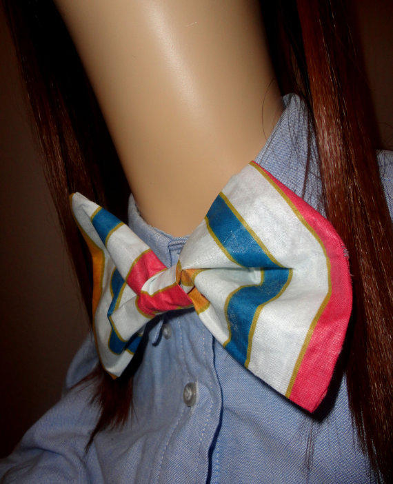 YCAF Neck Candy Bow/Bowtie Pin