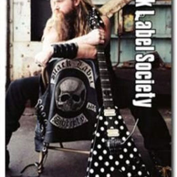 (24x36) Black Label Society (Zakk Wylde with Guitar) Music Poster Print