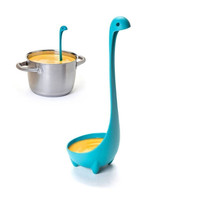 Quality Loch Nessie Monster Ladle Cartoon Plastic Long Handle Cooking Soup Spoon Kitchen Utensil Accessories