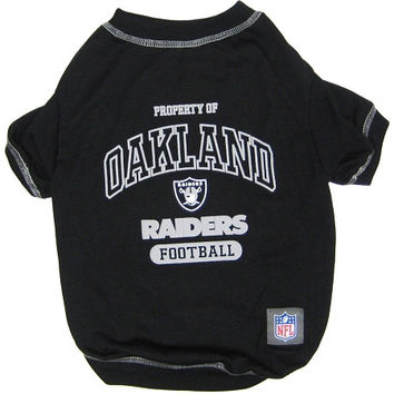Oakland Raiders Pet Shirt SM