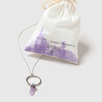 Amethyst Stone Ring Necklace