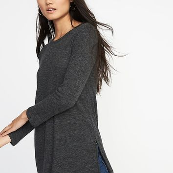 Long & Lean Rib-Knit Tunic for Women | Old Navy