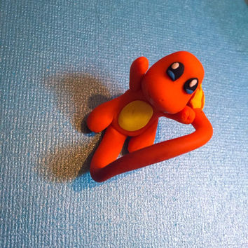 Charmander pokemon wraparound ring