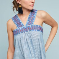 Leland Embroidered Top