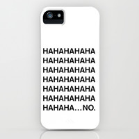 HAHA iPhone & iPod Case by Good Sense