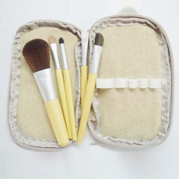 Environmental 5-pcs Make-up Brush Set = 4831036036