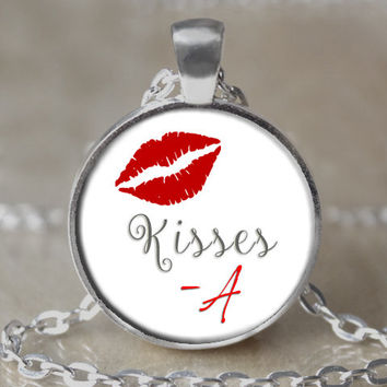 "Pretty Little Liars ""Kisses -A"" Necklace"
