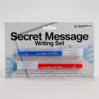 Secret Message Writing Set - World Market