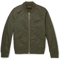 Beams Plus - Cotton-Blend Flight Jacket | MR PORTER