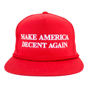 Mad Decent: Make America Decent Snapback - Red