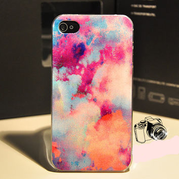 Galaxy Pattern iphone 4 4s CasePlastic iphone case by WTiPhoneCase