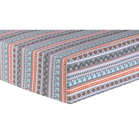 Aztec Forest Fitted Crib Sheet