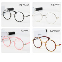 4 Colors Retro Big Round Cute Glasses SP141333