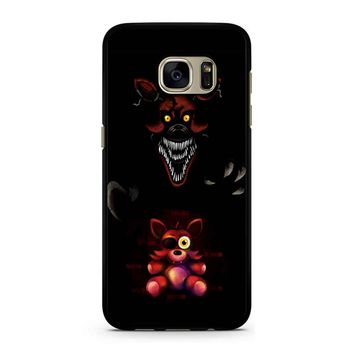 Five Nights At Freddy Fnaf 4 Nightmare Foxy Samsung Galaxy S7 Case